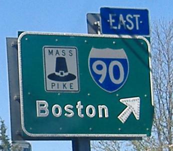 Mass. Pike - Boston 90 East