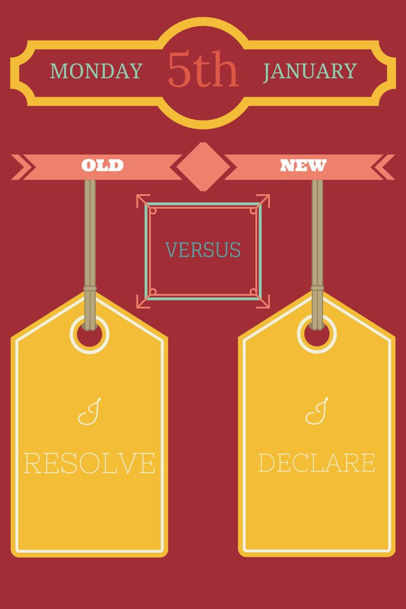 I resolve vs I Declare